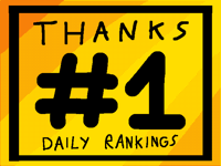 #1 in the daily ranking - thanks!