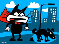 Super Cat enraged